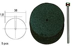 Sierra ModellSport - Discuri Corundum D38 cu ax (5 buc)