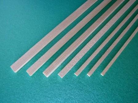 Sierra ModellSport - Bagheta dreptunghiulara brad 2 x 10 x 1000 mm