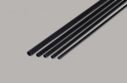 Sierra ModellSport - Teava rotunda carbon D2 x d1 x 1000 mm