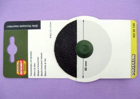 Sierra ModellSport - Disc Al-Oxid D80 x d10 x 1.2 mm