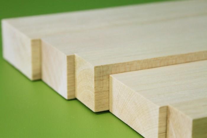 Sierra ModellSport - Bloc lemn balsa 30 x 30 x 1000 mm