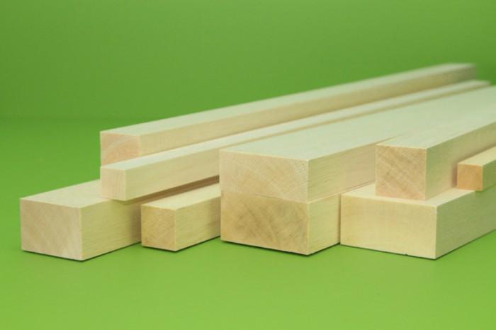 Sierra ModellSport - Bloc lemn balsa 40 x 40 x 1000 mm