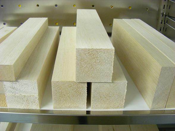 Sierra ModellSport - Bloc lemn balsa 50 x 50 x 1000 mm