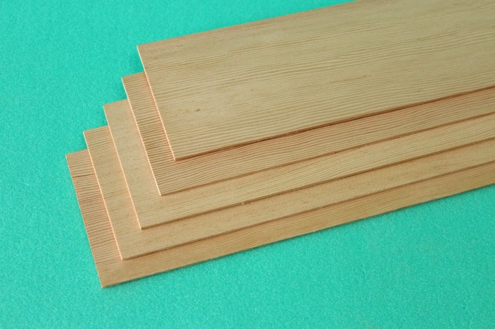 Sierra ModellSport - Placa lemn molid 1.5 x 100 x 1000 mm