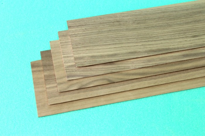 Sierra ModellSport - Placa lemn nuc 1 x 100 x 1000 mm