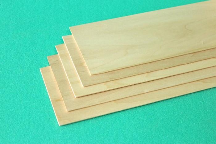 Sierra ModellSport - Placa lemn tei 1.5 x 100 x 1000 mm