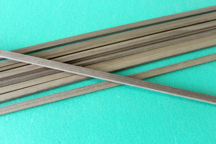 Sierra ModellSport - Bagheta dreptunghiulara nuc 2 x 2 x 1000 mm
