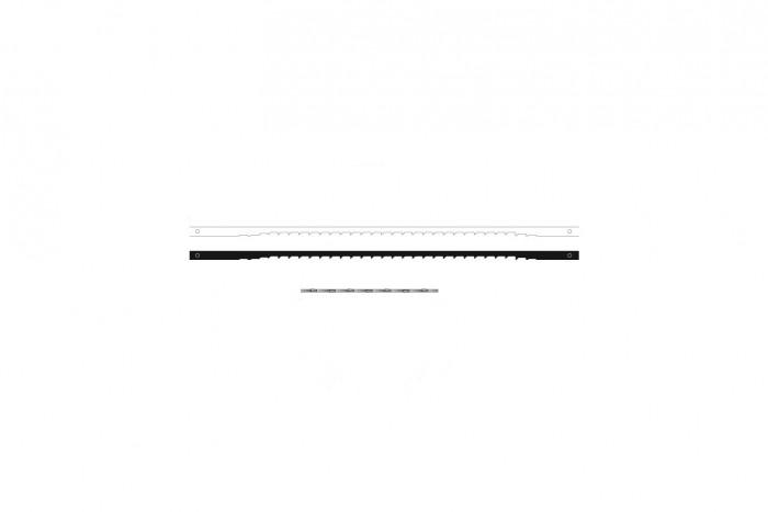 Sierra ModellSport - Panze de traforaj cu pin Niqua Skip nr.5 (12 buc)