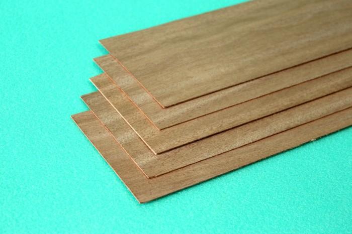 Sierra ModellSport - Placa lemn mahon 5 x 100 x 1000 mm