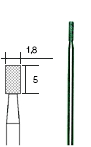 Sierra ModellSport - Beax Diamantat Cilindric D1.8 mm