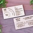 Carti de vizita lemn obechi