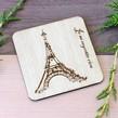 Suport pahar lemn obechi, Turnul Eiffel