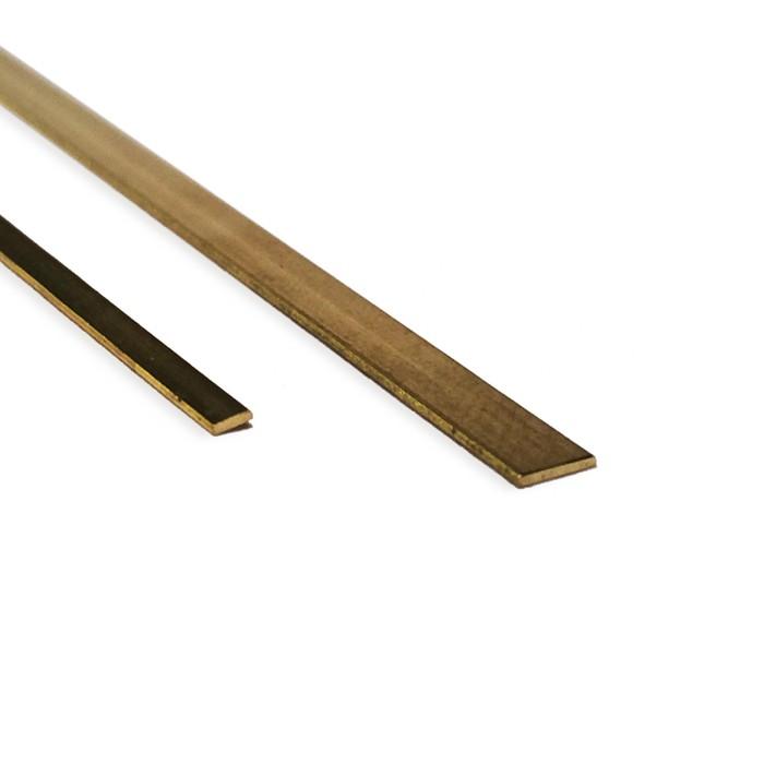 Sierra ModellSport - Profil alama semirotund 2 x 1 x 500 mm