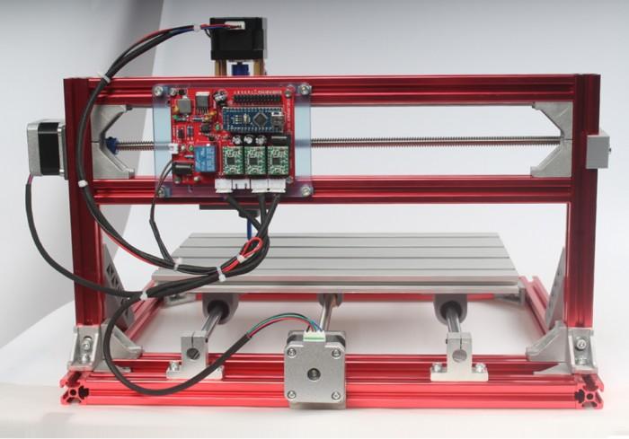 Sierra ModellSport - Mini freza si laser CNC 3018 (300 x 180 x 45 mm) kit