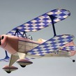 Aeromodel zbor liber PITTS Special S-1 KIT (457 mm)