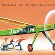 Aeromodel zbor liber JAVELIN KIT (610 mm)