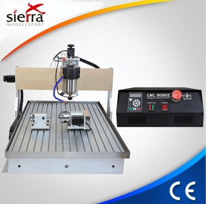 Sierra ModellSport - Freza (router) 4 axe 900 x 600/ 2200W/ USB MACH3/ racire cu apa