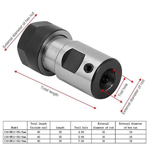 Sierra ModellSport - Adaptor penseta ER11 pentru ax de 5 mm