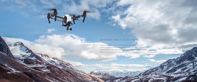 Drona DJI Inspire 1 - Camera X3